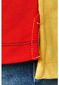 Wielokolorowa koszulka polo Tommy Jeans polo, na co dzień