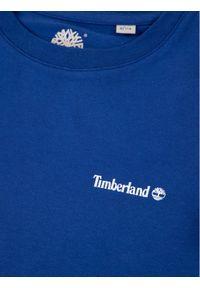 Niebieski t-shirt Timberland