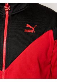 Puma Bluza Iconic MCS Track 530103 Czerwony Regular Fit. Kolor: czerwony