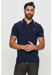 Niebieska koszulka polo Polo Ralph Lauren polo, krótka