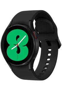 SAMSUNG - Samsung Galaxy Watch4 40mm Black. Rodzaj zegarka: smartwatch. Kolor: czarny. Styl: militarny
