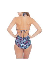 Stój kąpielowy damski jednoczęściowy Firefly Assunta 302434. Materiał: elastan, materiał, poliamid. Wzór: kwiaty, nadruk