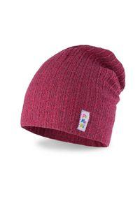 Wiosenna czapka dziecięca PaMaMi - Czerwony. Kolor: czerwony. Materiał: bawełna, elastan. Sezon: wiosna