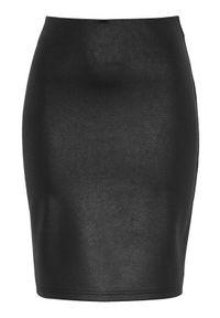 Cellbes Spódnica ze sztucznej skóry ze stretchem Czarny female czarny 58/60. Okazja: na co dzień. Kolor: czarny. Materiał: skóra. Styl: elegancki, casual