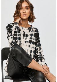 Czarny sweter Answear Lab długi, z długim rękawem, wakacyjny