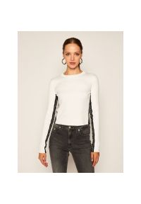 Biały sweter Calvin Klein Jeans