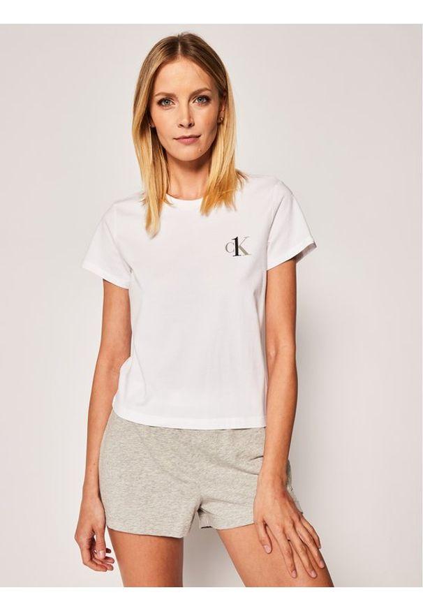 Biała piżama Calvin Klein Underwear