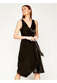 Czarna sukienka koktajlowa Pennyblack wizytowa