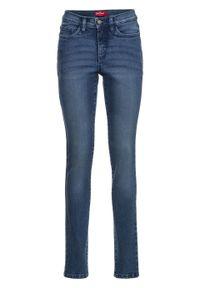 Dżinsy shape ze stretchem, wyszczuplające sylwetkę bonprix niebieski. Kolor: niebieski