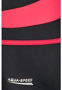 Czarny strój kąpielowy Aqua Speed z odpinanymi ramiączkami