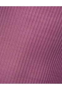 ISABEL MARANT - Fioletowy top z jedwabiu Louisanela. Okazja: na co dzień. Kolor: wielokolorowy, różowy, fioletowy. Materiał: jedwab. Długość rękawa: na ramiączkach. Styl: casual
