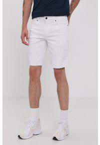 Only & Sons - Szorty jeansowe. Okazja: na co dzień. Kolor: biały. Materiał: jeans. Styl: casual