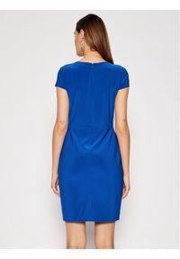 Lauren Ralph Lauren Sukienka koktajlowa 250837438002 Niebieski Regular Fit. Kolor: niebieski. Styl: wizytowy