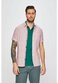 Różowa koszula medicine casualowa, na co dzień, krótka