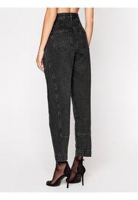 IRO Jeansy Boyfriend Vangir AN116 Czarny Relaxed Fit. Kolor: czarny. Materiał: jeans