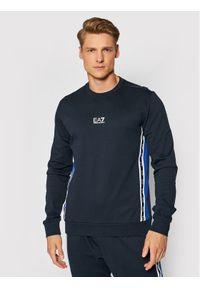 EA7 Emporio Armani Bluza 6KPM66 PJ05Z 1578 Granatowy Regular Fit. Kolor: niebieski