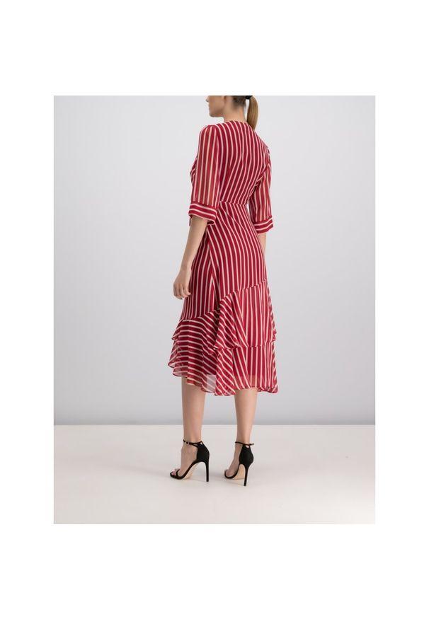 Czerwona sukienka Marella casualowa, na co dzień, prosta
