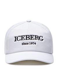 Biała czapka z daszkiem Iceberg