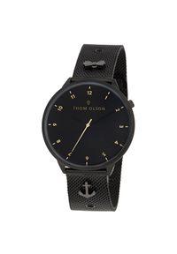 Czarny zegarek Thom Olson