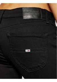 Czarne jeansy slim Tommy Jeans