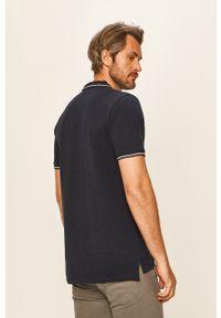 Niebieska koszulka polo Lee na co dzień, casualowa, z aplikacjami #5