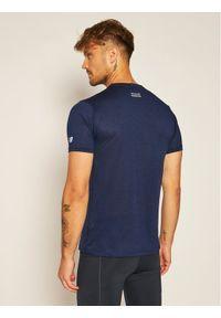Niebieska koszulka sportowa New Balance do biegania