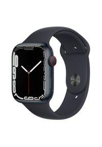 APPLE - Smartwatch Apple Watch 7 GPS+Cellular 45mm aluminium, północ | północ pasek sportowy. Rodzaj zegarka: smartwatch. Styl: sportowy