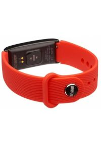 Czerwony zegarek GARETT elegancki, smartwatch