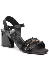 Czarne sandały Hispanitas