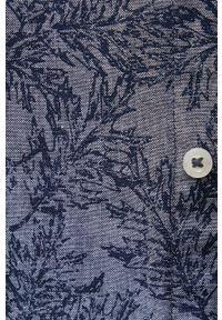 Tom Tailor - Koszula bawełniana. Typ kołnierza: kołnierzyk klasyczny. Kolor: niebieski. Materiał: bawełna. Długość rękawa: długi rękaw. Długość: długie. Styl: klasyczny