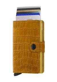 Pomarańczowy portfel Secrid