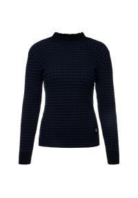 Niebieski sweter klasyczny G-Star RAW