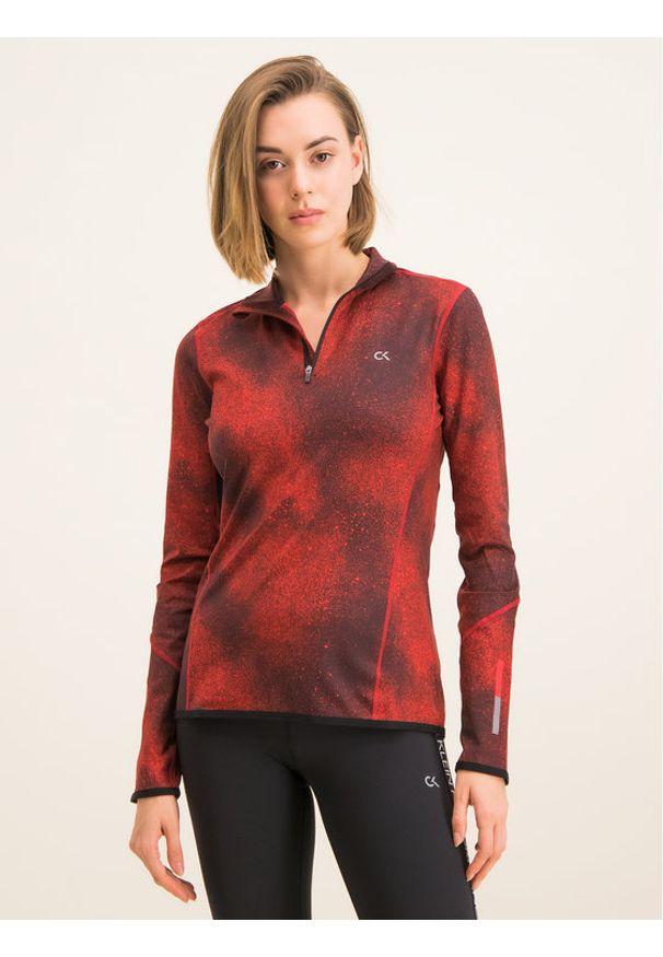 Czerwona bluza sportowa Calvin Klein Performance