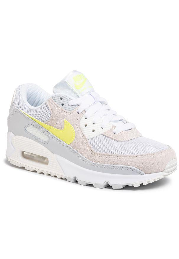 Białe półbuty casual Nike z cholewką
