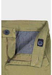 Zielone spodnie Mayoral na co dzień, casualowe