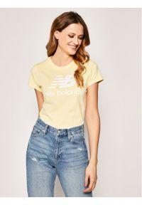 Żółty t-shirt New Balance