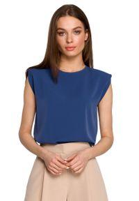 Niebieska bluzka MOE