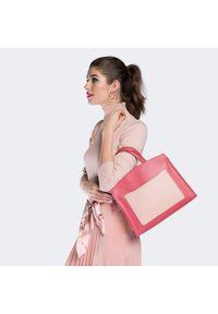 Różowy kuferek Wittchen na wiosnę, matowy, klasyczny