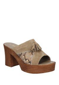 Marco Tozzi - sandały marco tozzi 2-27217-36. Okazja: na co dzień. Kolor: brązowy. Materiał: skóra ekologiczna. Sezon: lato. Styl: casual