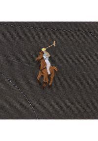 Szare trzewiki Polo Ralph Lauren z cholewką