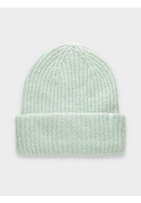 Zielona czapka zimowa 4f