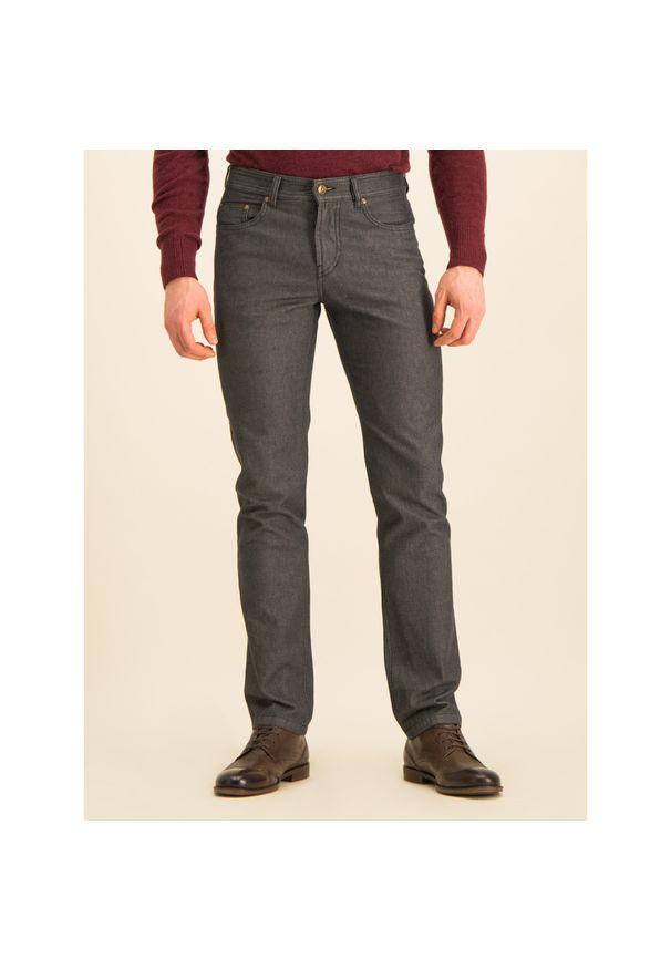 Szare jeansy Digel