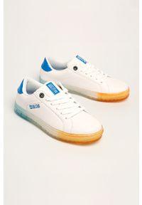 Białe buty sportowe Big-Star z cholewką, na sznurówki