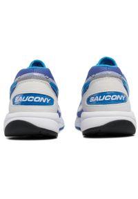 Fioletowe buty do biegania Saucony z cholewką