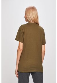 Ellesse - T-shirt. Okazja: na co dzień. Kolor: zielony. Wzór: nadruk. Styl: casual
