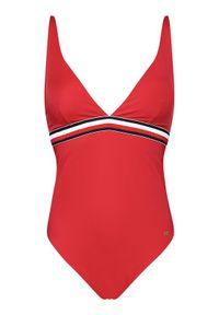 TOMMY HILFIGER - Tommy Hilfiger Strój kąpielowy Plunge-Rp UW0UW02700 Czerwony. Kolor: czerwony