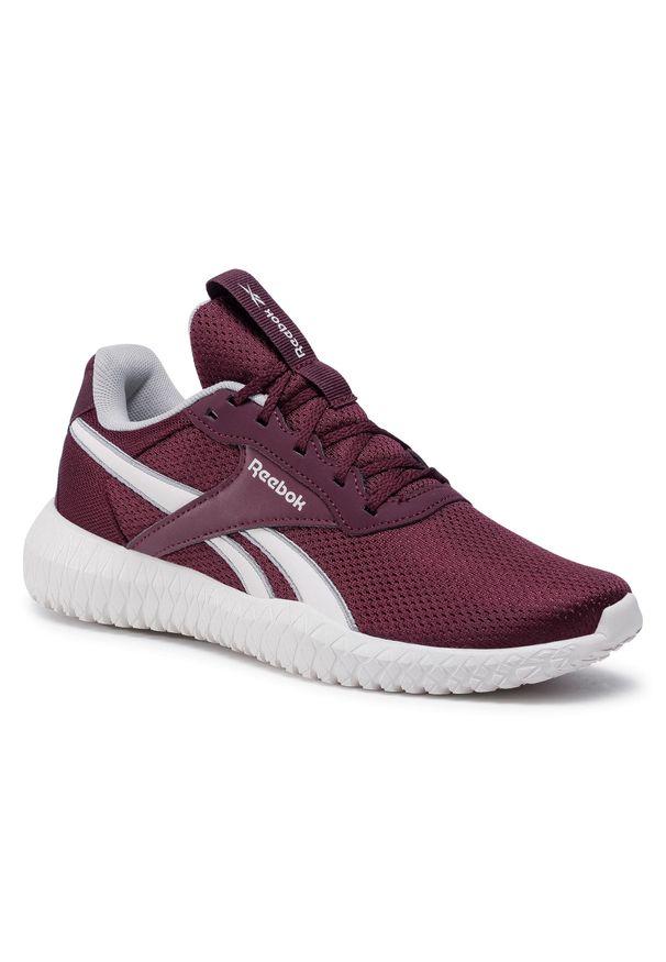 Czerwone buty do fitnessu Reebok na co dzień, z cholewką