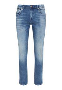Guess Jeansy Miami M1RAN1 D4B72 Granatowy Skinny Fit. Kolor: niebieski