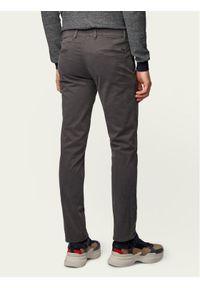 BOSS - Boss Chinosy Schino 50379152 Szary Slim Fit. Kolor: szary. Materiał: materiał