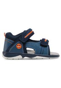 Mayoral - Sneakersy MAYORAL - 41.300 Azulon 88. Kolor: niebieski. Materiał: skóra, materiał, zamsz. Sezon: lato. Styl: klasyczny
